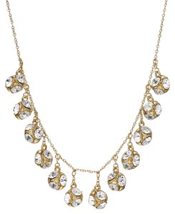 Kate Spade kate spade new york Gold-Tone Crystal Ball Collar Necklace