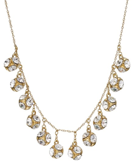 Preload https://item5.tradesy.com/images/kate-spade-gold-new-york-gold-tone-crystal-ball-collar-necklace-4733869-0-0.jpg?width=440&height=440