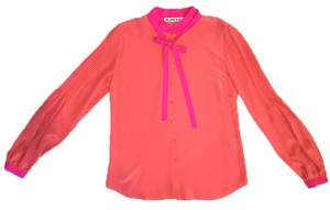 Jeunesse Button Down Shirt Pink, Coral