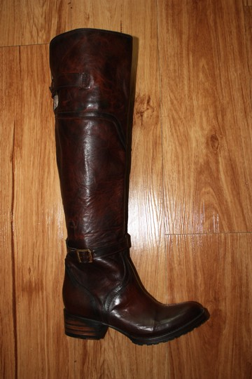 FreeBird Steven Quebec Tall Leather Over-the-knee Size 6.5 Cognac Boots