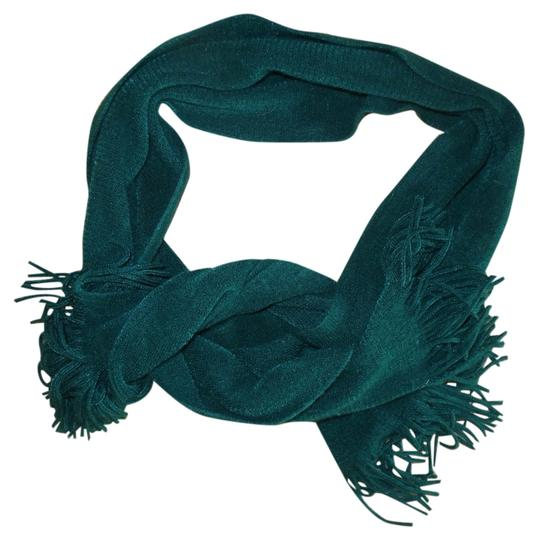 Other Forest Green Super Soft Fringed Scarf