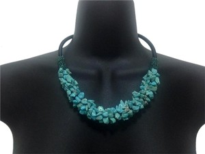 Turquoise Stone Chips Necklace