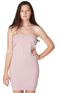 American Apparel short dress Light tan on Tradesy