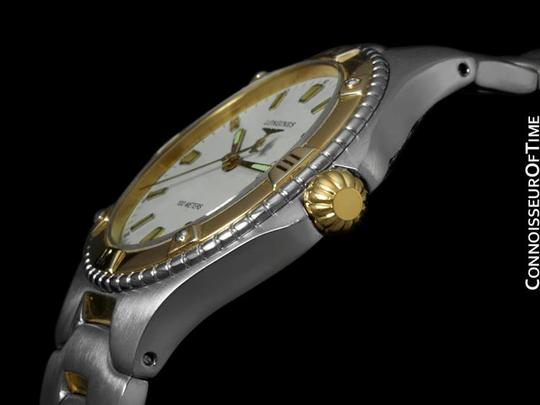 Longines Longines E.F. & Co. Conquest Mens Full Size Watch, Date - Stainless Steel & 18K Gold Plated