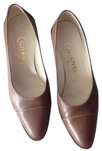 Chanel Brown Pumps
