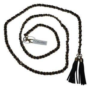 Calvin Klein Calvin Klein chain belt with tassels