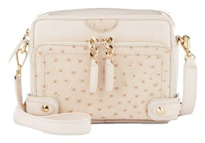 Be&D Rose Gold Patent Leather Cross Body Bag