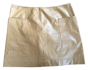 bebe Mini Skirt Tobacco brown