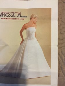 Impression Bridal 2293 Wedding Dress