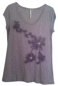 LC Lauren Conrad T Shirt Purple