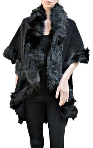 Fur Faux Fur Cape