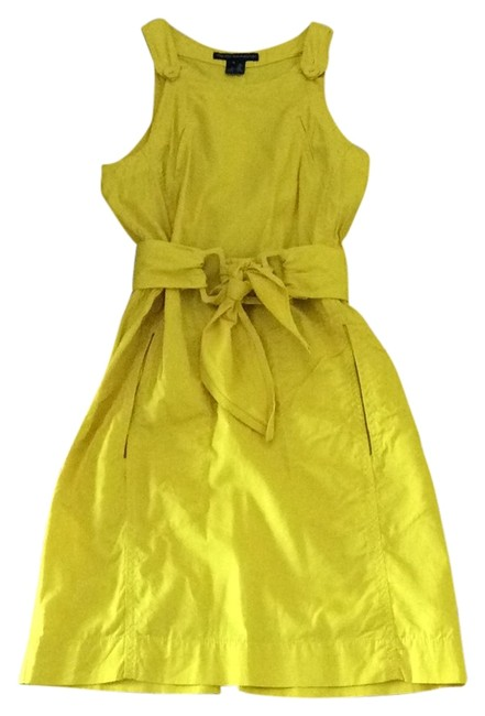 French Connection short dress Yellow on Tradesy