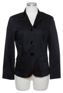 Theory Stretch Cotton Black Jacket