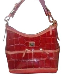 Dooney & Bourke Patent Leather Hobo Bag