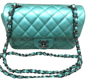 Chanel Mini Emerald Classic Cross Body Bag