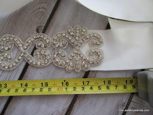 The Last Minute Bride Ivory Beaded Belt Style: Lbb-monte Carlo - Iv Sash