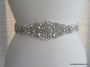 The Last Minute Bride Beaded Bridal Belt Style: Lbb-paris