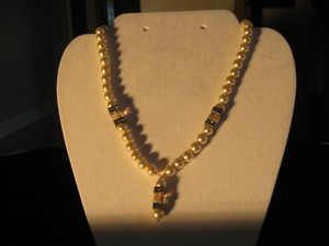 Giavan Giavan Ppo-15 (n32) Pearl Necklace With Drop