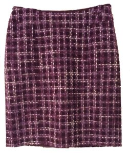 Ann Taylor Skirt Purple