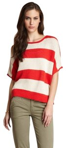 Willow & Clay Striped Oversized Sweater