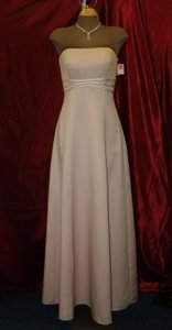 Jordan Fashions Ice Pink Jordan Fashions Ice Pink / Pearl Size 4 #805 Strapless Floor Length Formal Gown Prom Bridesmaids Formal Wear Special Dress