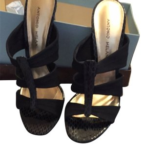 Antonio Melani Black Sandals