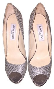 Jimmy Choo silver/gold Pumps