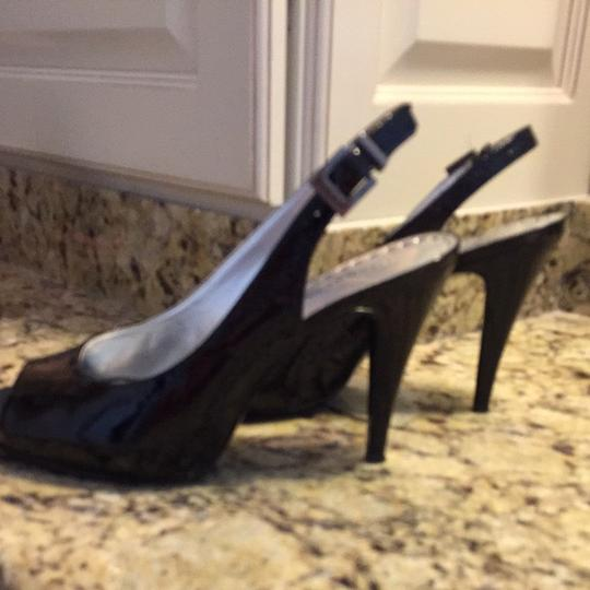 Gianni Bini Black Patent Pumps