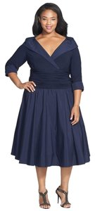 Jessica Howard Plus Size Mother Of The Bride Blue Dress