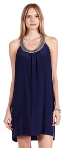 Joie Asela Midnight Halter Dress