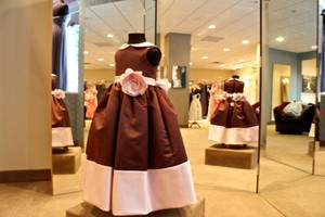Chocolate Brown 1059 Dress
