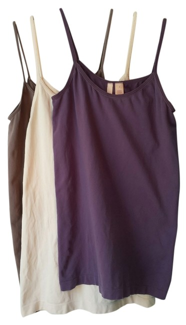 Anthropologie Camisoles Large Top Pink Cocoa Purple