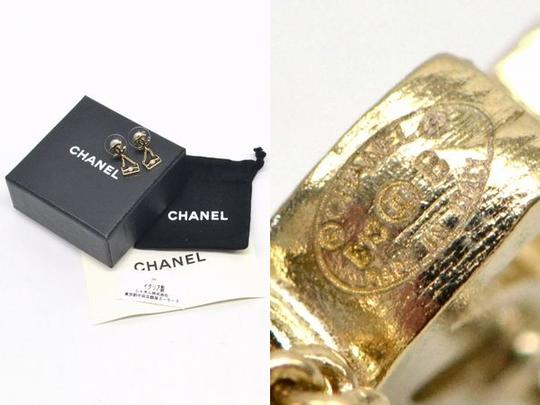 Chanel Authentic Chanel Motif Bag Earrings