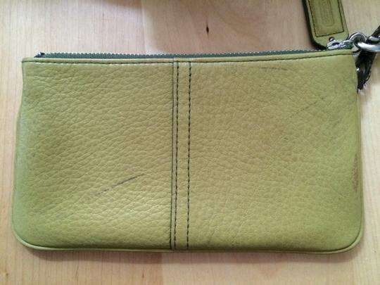 Coach Wristlet in Avocado/Muted Lime