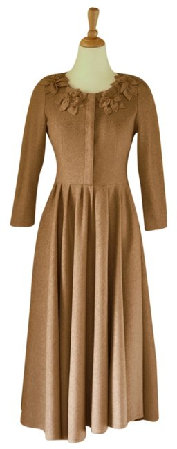 Item - Light Brown/Dark Beige Sahara Coat Size 4 (S)