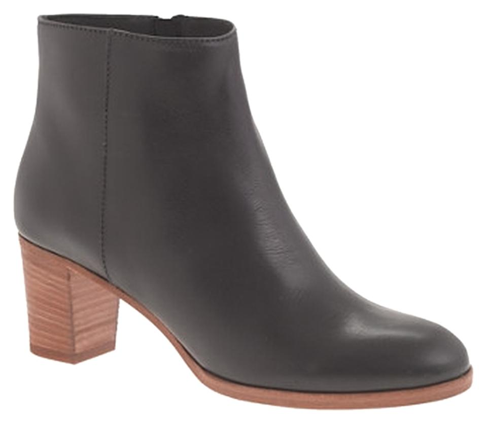WOMEN J.Crew German Black Aggie Ankle Boots/Booties German J.Crew Outlets a5b8c8