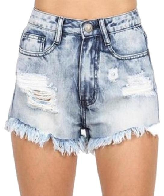 Other Junior Size S- 26 Wash Gently Used. Always Fre Shipping Denim Shorts-Light Wash