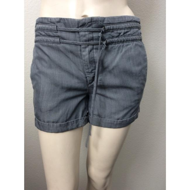 Helmut Lang Cuffed Shorts Pewter
