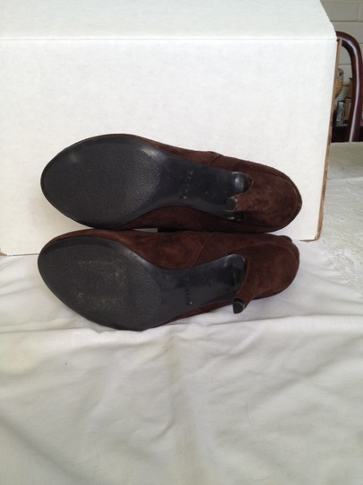 Guess Suede Chic Cool chocolate brown Boots