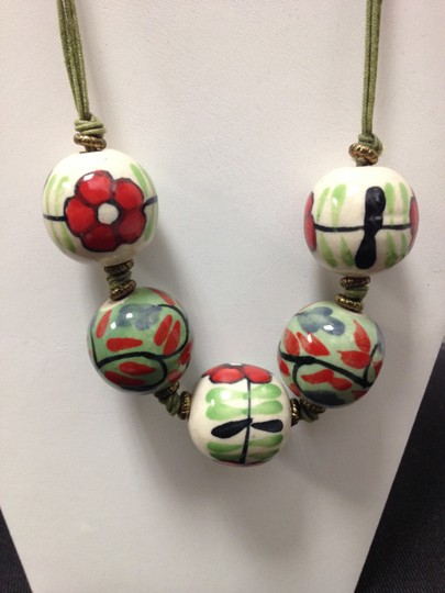 Other Ceramic Hand Made Necklace