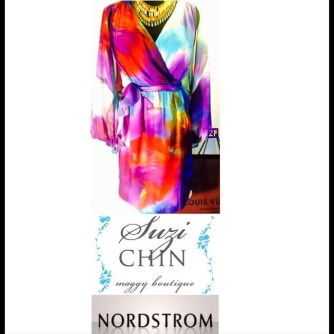 Suzy Chin Maggy Boutique for Nordstrom Silk Cocktail Dress
