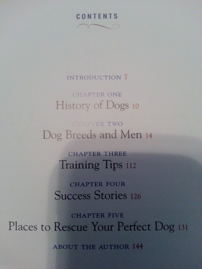Marilena Perilli Book, 'How to understand Men through their Dogs'