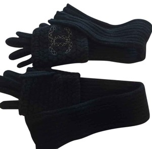 Chanel Chanel black gloves