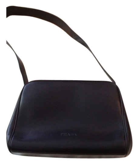 Preload https://item1.tradesy.com/images/prada-borsa-in-pelle-black-leather-shoulder-bag-4744465-0-0.jpg?width=440&height=440