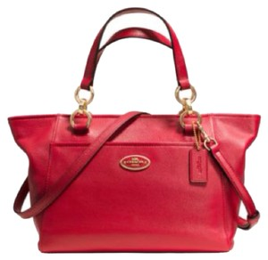 Coach Mini Ellis Ellis Tote in Red