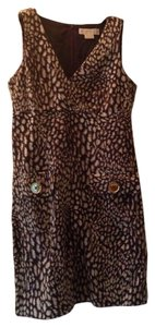 Michael Kors short dress Brown/White on Tradesy