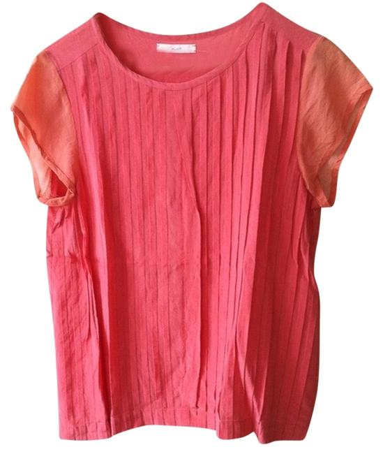 Preload https://item1.tradesy.com/images/madewell-pink-eliot-blouse-size-4-s-4745215-0-0.jpg?width=400&height=650