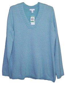 Charter Club Cotton Metallic Machine Washable Sweater