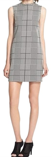 Theory Houndstooth Shift Dress