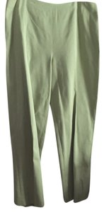 Ellen Tracy Straight Pants Green
